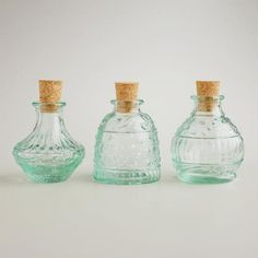 One of my favorite discoveries at WorldMarket.com: Recycled Glass Spice Jars, Set of 3 $5.97 not online?