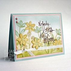 Fab Friday - Challenge 61 - Mother's Love Card