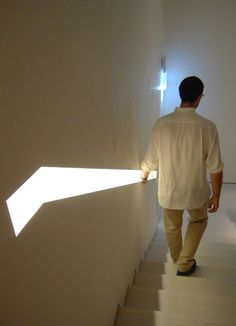 We have lots of awesome ideas for hidden lighting solutions for every home! Hidden Lighting, Stair Lighting, Linear Lighting, Interior Lighting, Staircase Handrail, Stair Railing, Staircase Design, Handrail Ideas, Bannister