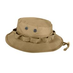 8771956dae3 Clothing 72891  Rothco 5750 Coyote Brown Military Style Wide Brim Boonie Hat  -  BUY