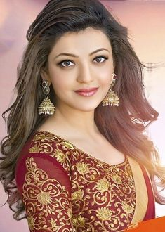 Kajal Agarwal is one of the most popular and beautiful actresses South Indian Actress. She is also work in Bollywood. Kajal Agarwal work on many South Indian Movies and Bollywood Movies. Indian Actress Gallery, South Indian Actress Hot, Indian Film Actress, Indian Actresses, Tamil Actress, Beautiful Girl Indian, Most Beautiful Indian Actress, Beautiful Girl Image, Beautiful Actresses
