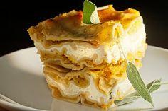 The Chubby Vegetarian: Delicata and Acorn Squash + Sage Lasagna