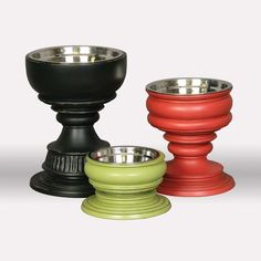 Stylish and upscale bowls for your best friend!