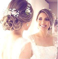 Evening Hairstyles, Bride Hairstyles, Braids For Short Hair, Short Hair Styles, Hairstyle Short, Celebrity Long Hair, Scarlett Johansson Hairstyle, Modern Short Hairstyles, Braut Make-up
