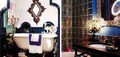 Baños en estilo árabe - http://www.decoora.com/banos-en-estilo-arabe.html