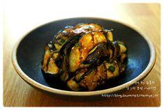[구운가지무침] 쫄깃한 식감이 좋은 구운 가지무침 – 레시피   다음 요리