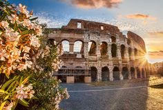 Colosseum During Spring Time