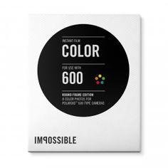 Color Film for 600 Round Frame