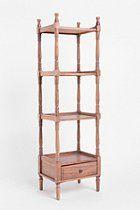 $69.99 Turned Spindle Bookshelf  #UrbanOutfitters