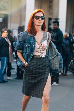 October 1, 2016 Tags Sunglasses, Paris, Denim, Balenciaga, Taylor Tomasi Hill, SS17 Women's