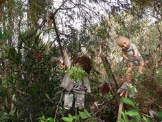 Island of the Dolls. Probably the creepiest place in the world. Worth reading about, though.