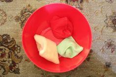 Toddler Activity:  Beanbag Toss