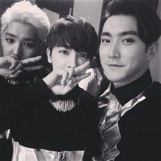 Kangin, Donghae, Siwon