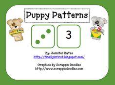 Puppy Patterns Math