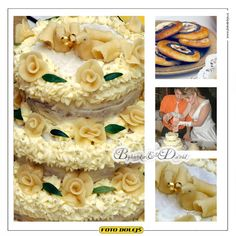 Bohunka a David, svatební dort