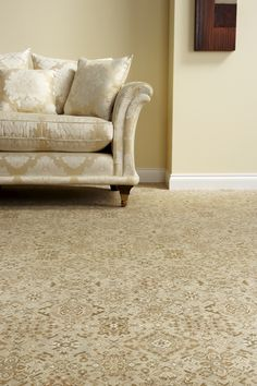 Available at Rodgers of York. Parker Knoll, Axminster Carpets, Oriental, Couch, Traditional, York, Cream, Interior Design, Furniture