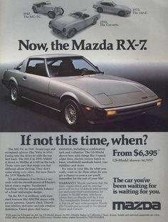 Mazda RX-7 Ad