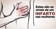 NAS MULHERES, O INFARTO OCORRE DE FORMA DIFERENTE - PRESTE ATENÇÃO A ESTES SINAIS!