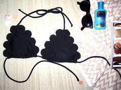 DIY: Chloe scalloped bikini
