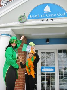 The Bank of Cape Cod will be serving Soda Bread, Irish cookies, and Baley's coffee to celebrate St. Patrick's Day!