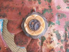 exquisite vintage antique button pendant by Suddendeersighting, $24.00