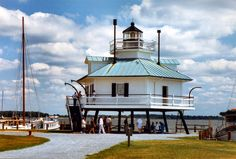 Hooper Strait Light, Saint Michaels, Maryland (Tangier Sound)