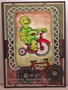 Digi Darla's Challenges   (DD Timmy Bike by Jackie)