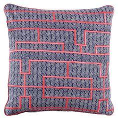 John Robshaw Sandstone Decorative Pillow