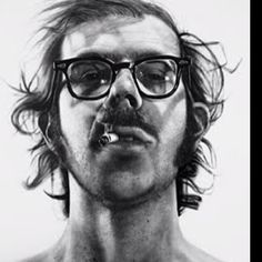 One of my favorite Chuck Close self portraits.