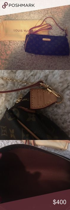 Louis Vuitton Eva ordered from eBay not seeing a date code not sure of  authenticity Louis Vuitton Bags Crossbody Bags ee8d4ed891147