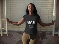 "This comfortable unisex short sleeve offers men a midweight piece of clothing for all casual occasions. With an attention-grabbing print, it's an instant favorite. Bring some style to your gear with this ""BAE Ride Or Die"" urban culture classic fun graphic tee design by RWay. Grab one for you or give it as a gift. See all the various sizes and colors. Tee is unisex for both men and women Choose your size, color and place your order today! For more details #urban #street #tee #tshirt…"