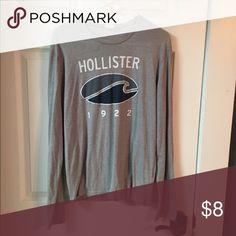 Men's Long Sleeve Shirt Men's large long sleeve shirt Hollister Shirts Tees - Long Sleeve