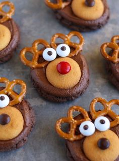 Save this recipe to make Reindeer Cookies.