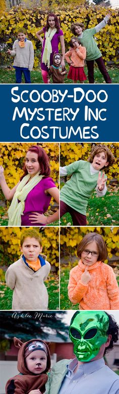 Family halloween costumes - scooby doo and the mystery incorporated gang