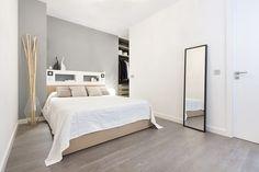 Dormitorio principal ordenado