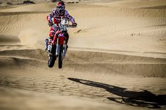 Honda RallyTeamHRC Dirtbikes, Rally, Honda, Challenges, Motorcycles, Racing, Running, Mtb Bike, Dirt Motorcycles