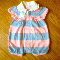 Check this item I am selling on Totspot, the resale shopping app for kids' clothes.   NWT Ralph Lauren Polo romper  Ralph Lauren  Love this! #kidsfashion