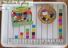 Elmer the Elephant Counting Activity