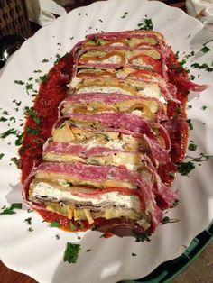 Vegetable terrine | www.Scarboroughfarecatering.com