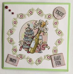 Stitch en Do 30 Stitching, Have Fun, Party, Needlepoint, Costura, Stitch, Parties, Sew, Sewing Projects