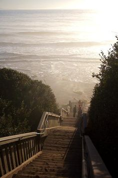 Mesa Lane Steps in Santa Barbara... my favorite place to find peace of mind
