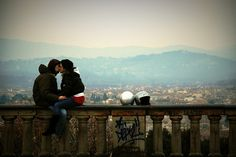 It all starts with a kiss. See more at, http://www.photographyinstyle.com