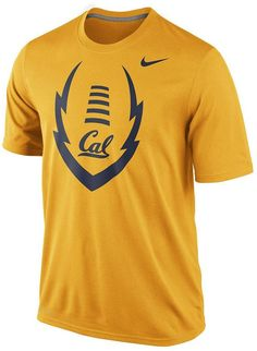 They say legends are made. Start your own in this men's Nike Cal Golden Bears performance top. Featuring an official team logo graphic. Product Features Dri-FIT Crewneck Short sleeves Polyester Machine wash Imported