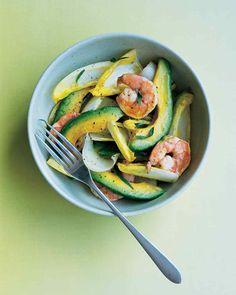 Avocado, Shrimp, and Endive Salad