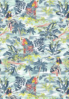 Spring/Summer Print by Robbie Saulter, via Behance