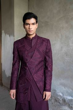 Mens Indian Wear, Indian Men Fashion, Indian Fashion Dresses, Indian Wedding Clothes For Men, Wedding Kurta For Men, India Fashion Week, Lakme Fashion Week, Designer Suits For Men, Designer Clothes For Men