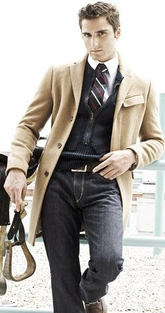 Camel Hair Coat- great classic for the unpredictable weather here in the South. Usually in a camel color, but if you can find in other color, snatch up as a great investment as they are just as warm as a wool coat but with less perspiring on the inside.