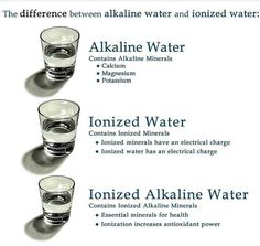 the difference between alkaline water and ionized water? alkaline, ionized water explainedalkaline, ionized water explainedis the difference between alkaline water and ionized water? Kangen Water Benefits, Alkaline Water Benefits, Benefits Of Drinking Water, Agua Kangen, Kangen Water Machine, Alkaline Water Machine, Ionised Water, Diet Water, All About Water
