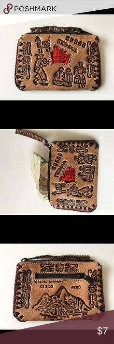 Handmade Leather Coin Purse Handmade Leather Coin Purse Bags Wallets