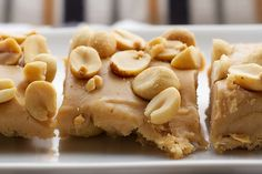 Another pinner says: I am not kidding you, these Salted Nut Squares are just like Payday candy bars. And they take only 5 ingredients. Oh yeah, and they are no-bake, too. So very good....